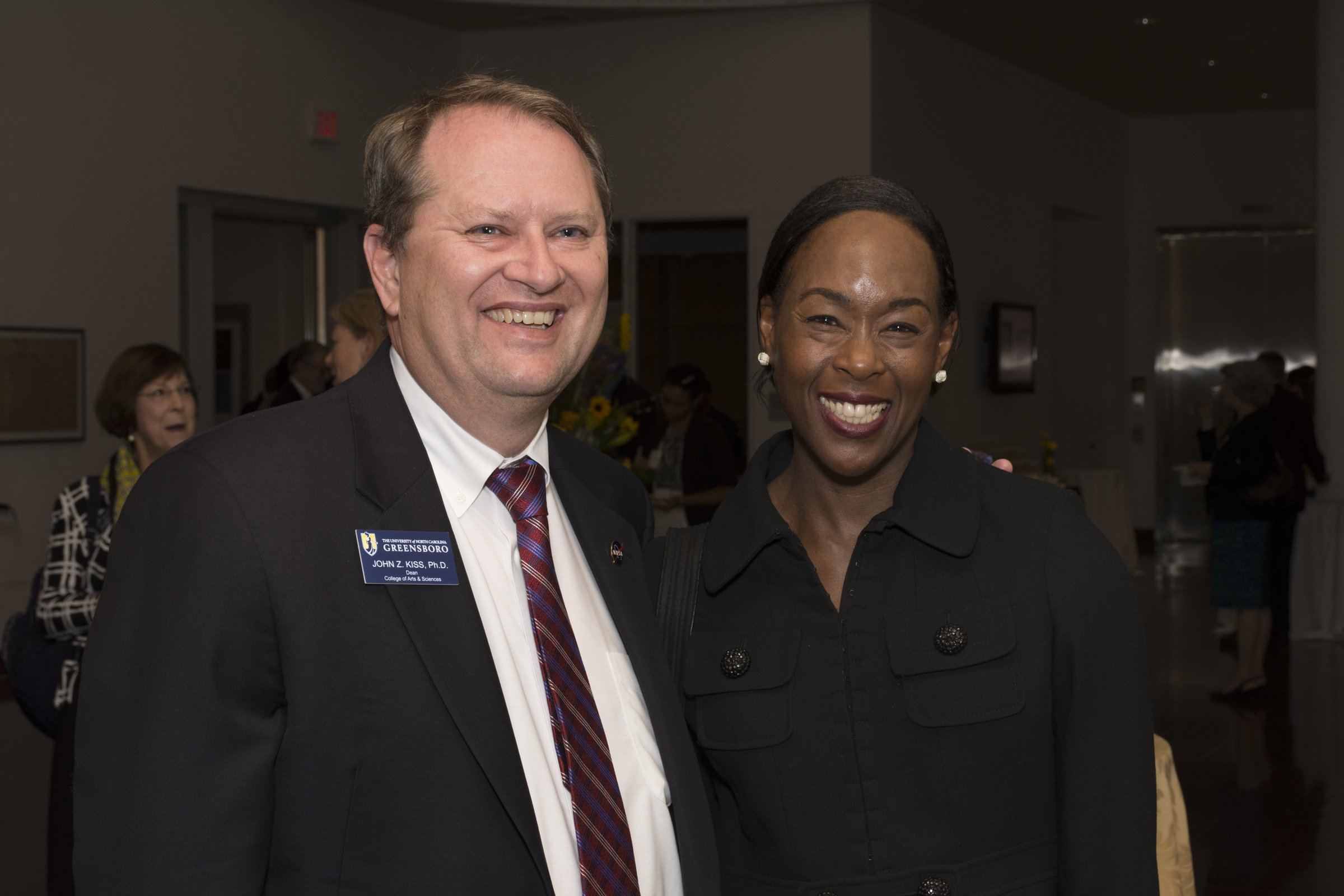 Dean Kiss with Margo Shetterly