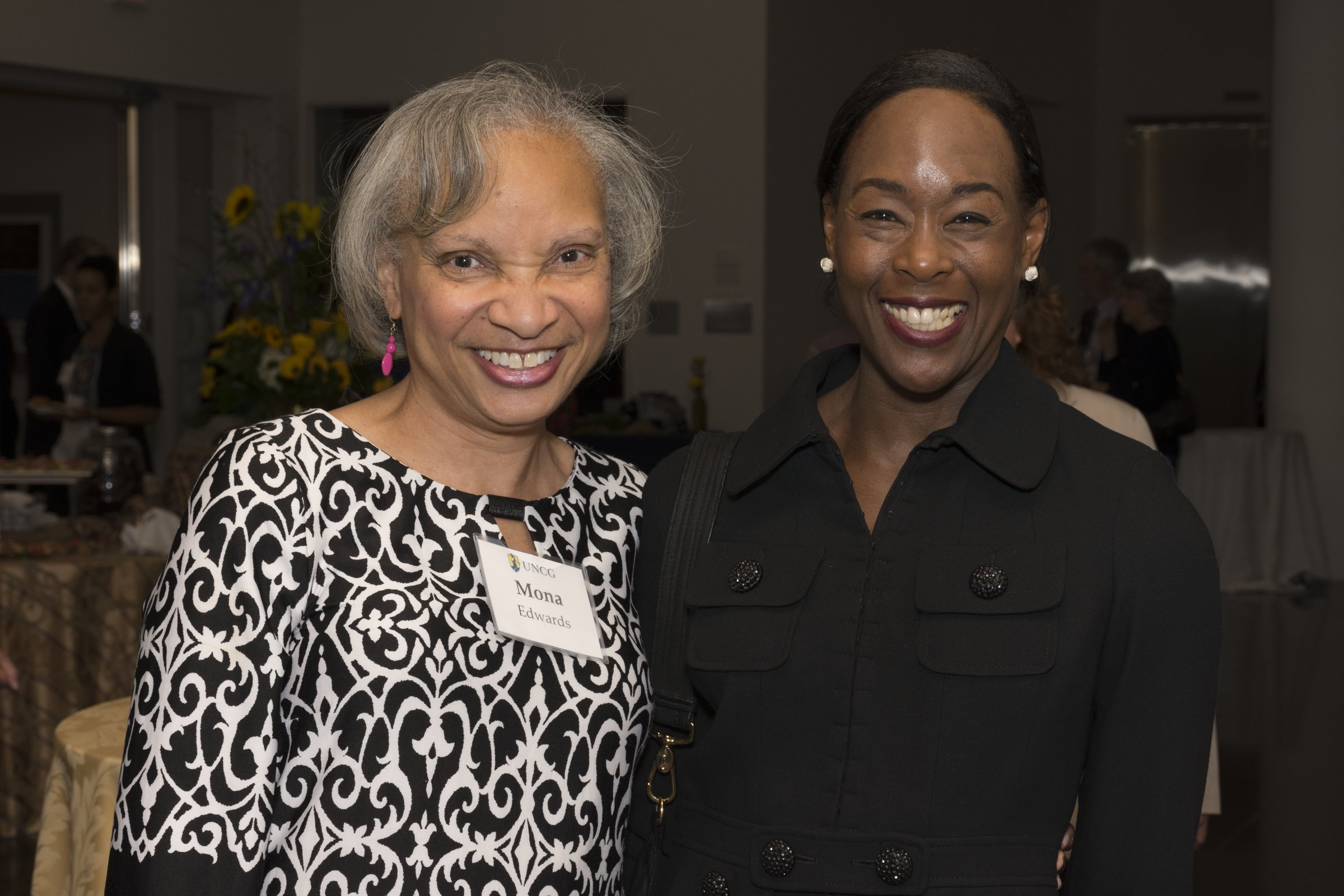Mona Edwards with Margot Shetterly