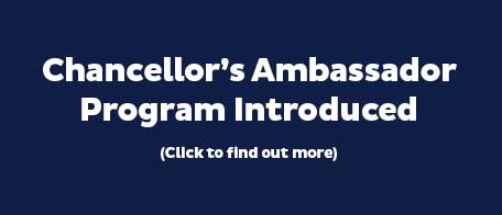 Chancellor's Ambassador Program graphic