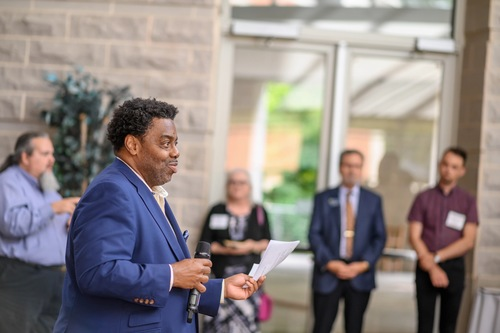 Provost Dunn's reception for new 2019-20 faculty