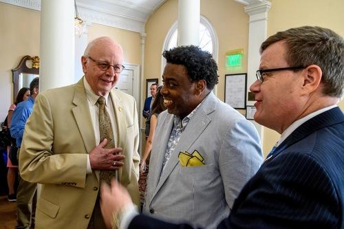 Legislators touring Jackson Library